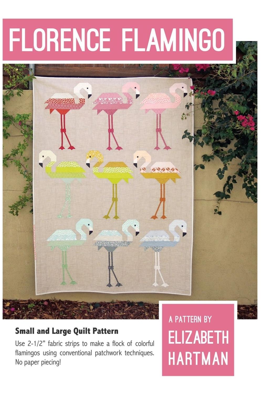 Elizabeth Hartman Florence Flamingo Quilt Pattern