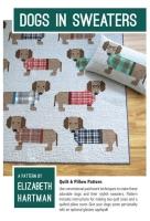 Elizabeth Hartman Sausage Dogs in Sweaters Quilt Pattern