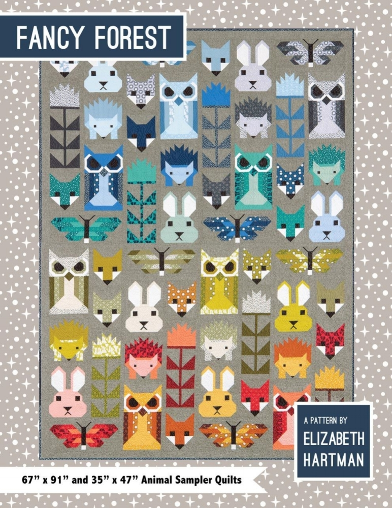 Elizabeth Hartman Fancy Forest Quilt Pattern