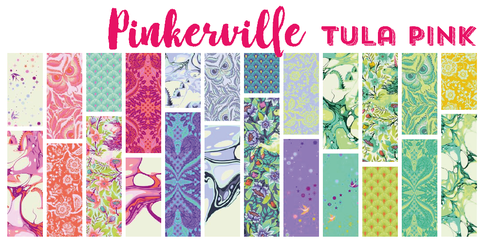 Pre-Order Tula Pink Pinkerville March 2019