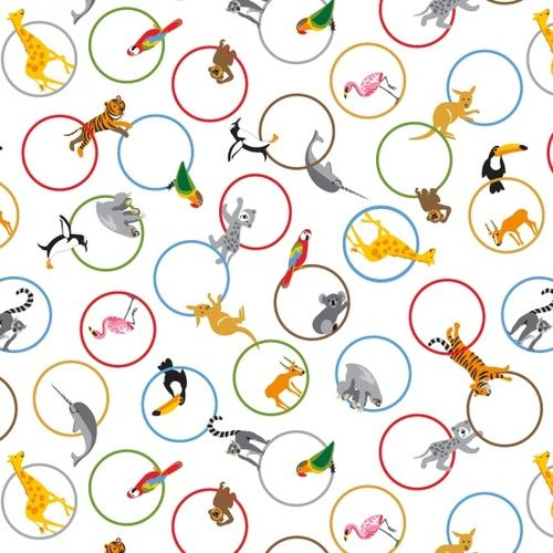 Little Explorers Animal Rings Jungle Animals Tiger Penguin Monkey Parrot Nu