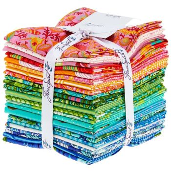 Zuma Tula Pink 24 Fat Quarter Bundle Cotton Fabric Cloth Stack Full Collection