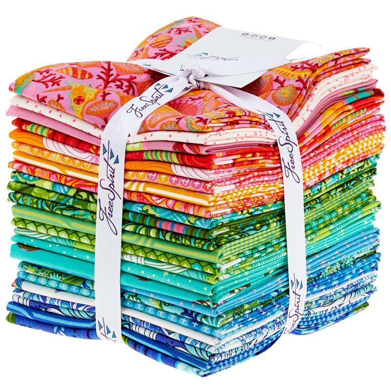 ZumaTula Pink 24 Fat Quarter Bundle Cotton Fabric Cloth Stack Full Collecti