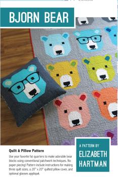 Elizabeth Hartman Bjorn Bear Bears Quilt Pattern