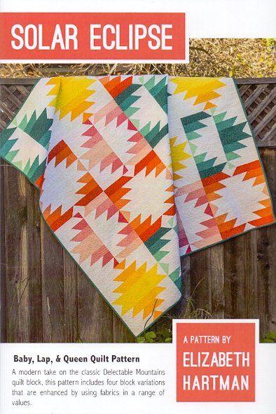 Elizabeth Hartman Solar Eclipse Quilt Pattern