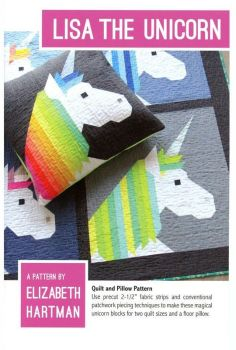 Elizabeth Hartman Lisa the Unicorn Quilt Pattern