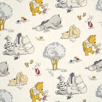 Disney Winnie the Pooh and Friends Nursery Character Togetherish Sort Of Day Cotton Fabric