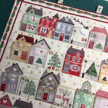 Advent Calendar Sewing Class (All Supplies Included)