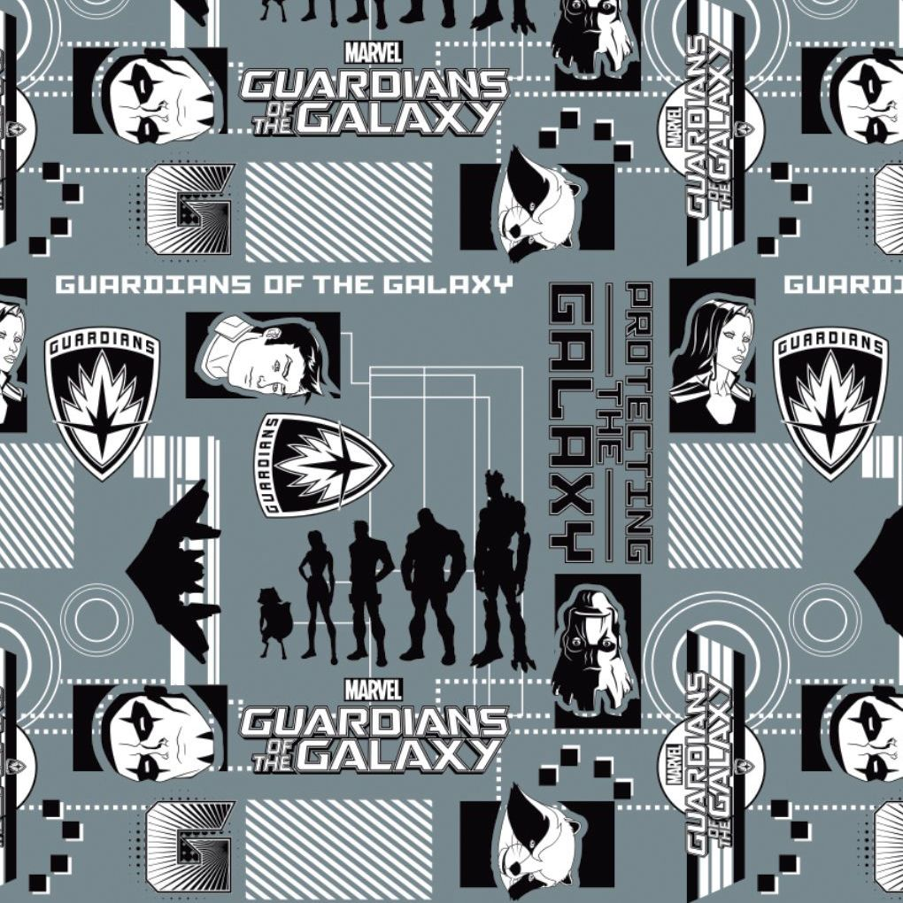 Marvel Guardians of the Galaxy Refresh Silhouettes Lead Logo Star-Lord Gamo