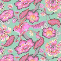 RARE Tula Pink Chipper Chipmunk Sorbet Cotton Fabric