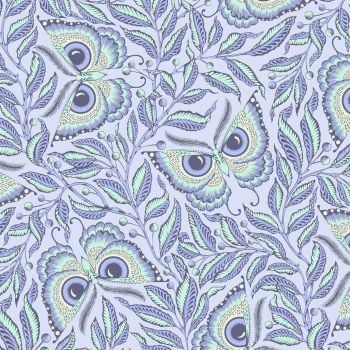 Tula Pink Pinkerville Enlightenment Daydream Butterfly Botanical Butterflies Cotton Fabric