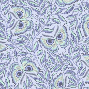 PRE-ORDER Tula Pink Pinkerville Enlightenment Daydream Butterfly Botanical Butterflies Cotton Fabric