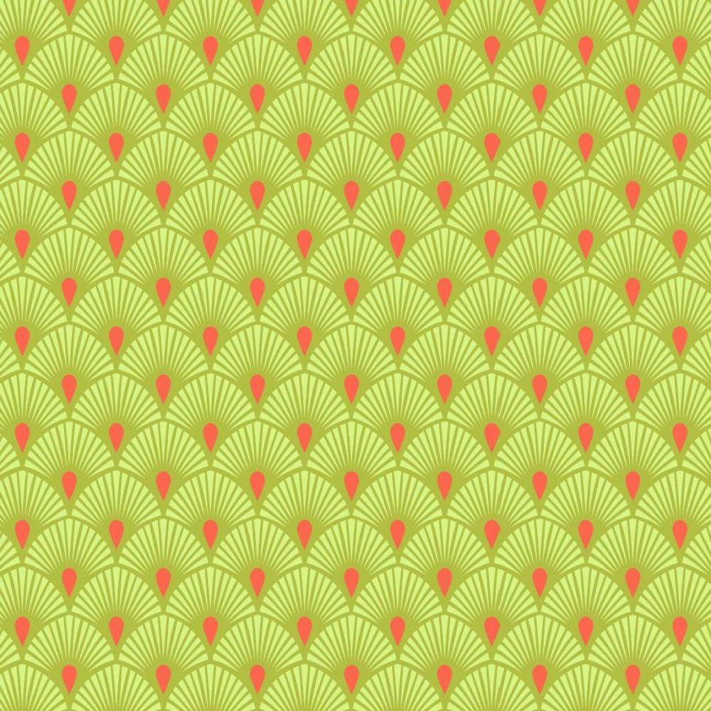 PRE-ORDER Tula Pink Pinkerville Serenity Frolic Geometric Art Deco Fan Cott