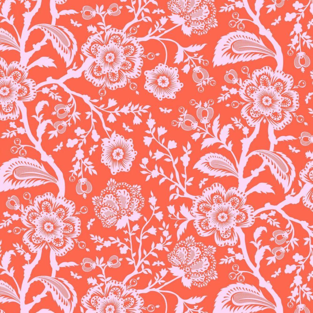 PRE-ORDER Tula Pink Pinkerville Delight Cotton Candy Floral Flower Botanica