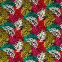 Canopee Tile Provence Leaves Tropical Leaf Canopy Botanical Digital Extra Wide Cotton Fabric