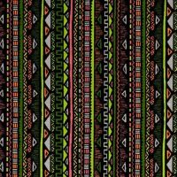 Aztec Stripe Geometric Triangle Maya Green Pink Neon Digital Extra Wide Cotton Fabric