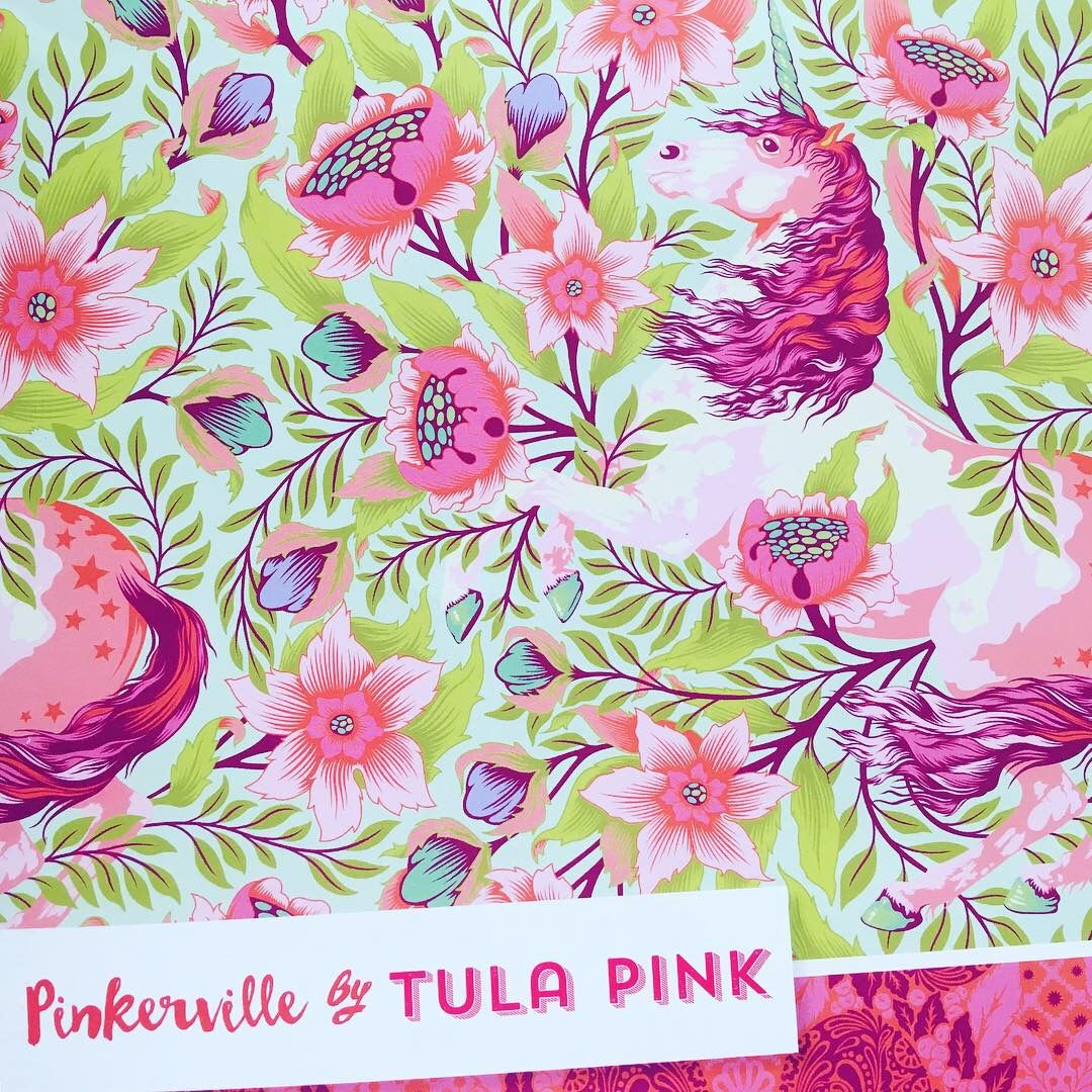 PRE-ORDER Pinkerville Tula Pink 21 Fabric 1 Metre Bundle Cotton Fabric Clot