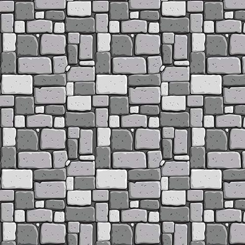 Dragons Rock Gray Stone Wall Brick Grey Bricks Building Castle Nursery Cott