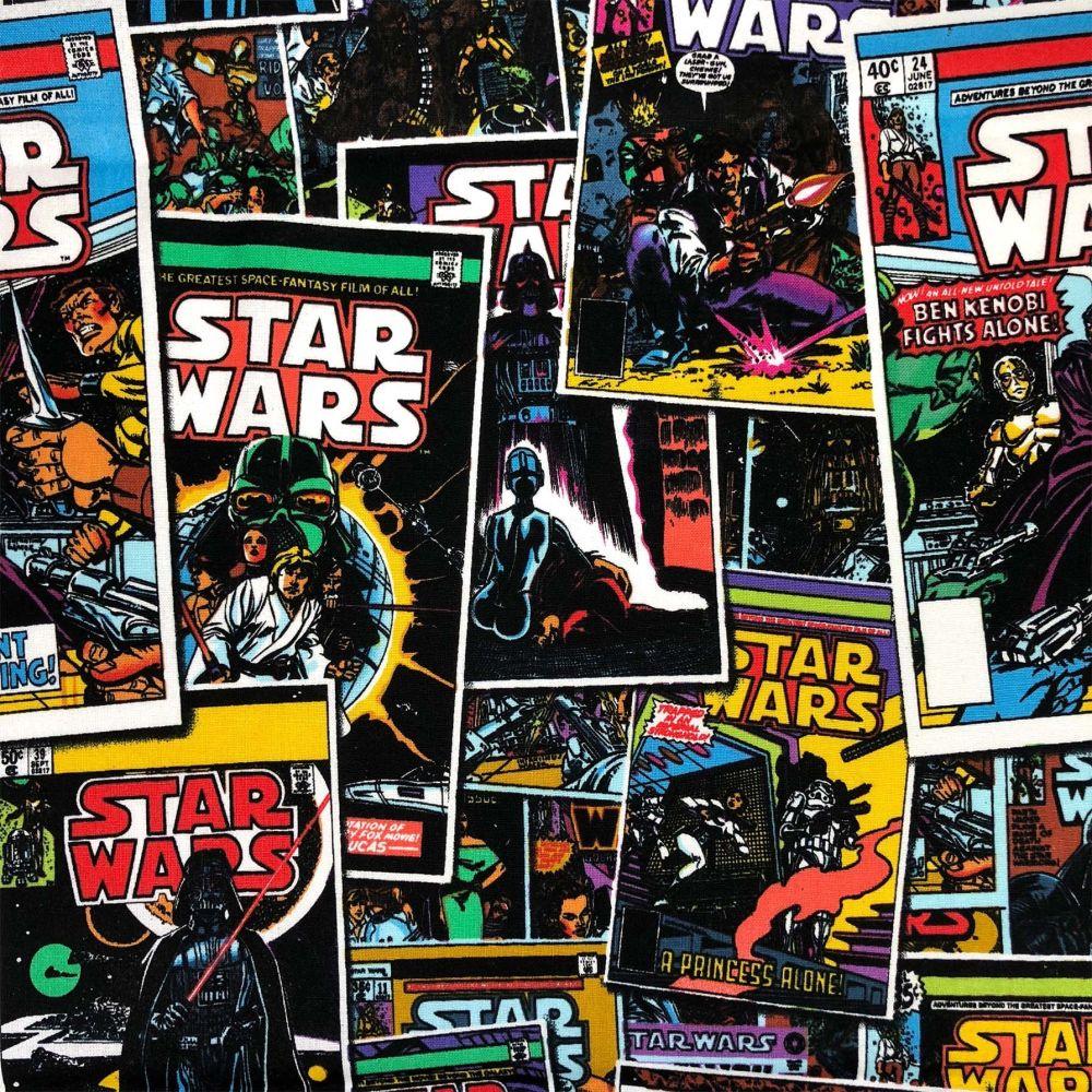 Star Wars Immortals Comic Books Darth Vader Boba Fett Obi Wan Kenobi Cotton