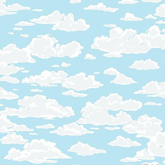 SEA BREEZE PINSTRIPE BLUE Makower 100/% cotton NAUTICAL seaside BEACH fabric