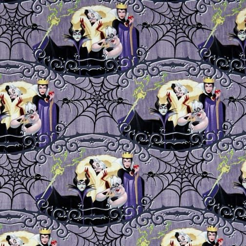 Disney Villains Villain Friends Malificent Evil Queen Ursula Cruella de Vil