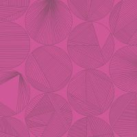 Quantum Petri Magenta Circles Linear Geometric Lines Blender Giucy Giuce Cotton Fabric