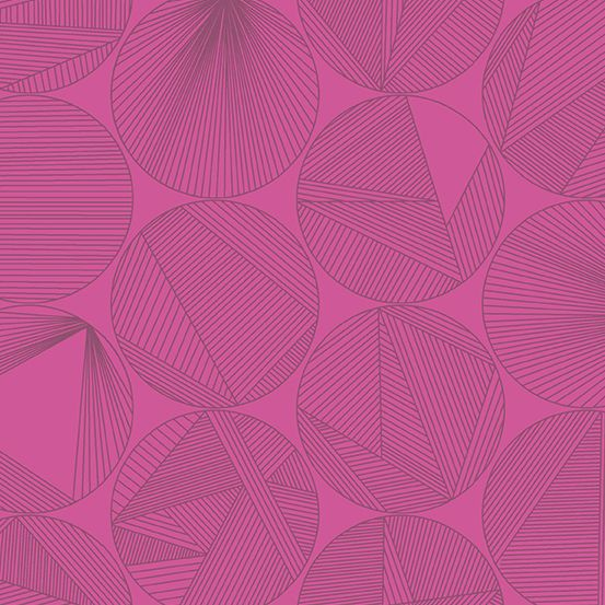 Quantum Petri Magenta Circles Linear Geometric Lines Blender Giucy Giuce Co