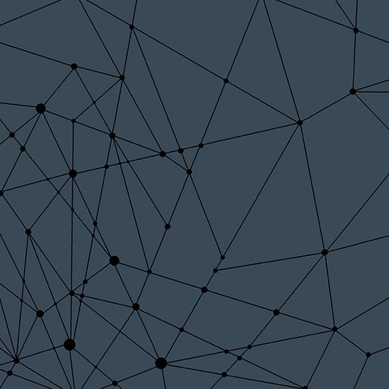 Quantum String Theory Dusk Blue Linear Geometric Lines Blender Giucy Giuce