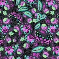 Venus in Spirit Tula Pink De La Luna Skull Botanical Floral Butterfly Cotton Fabric