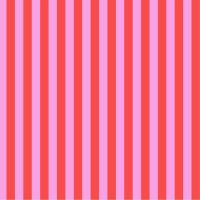 Tula Pink All Stars Stripes Poppy Tent Stripe Geometric Blender Cotton Fabric
