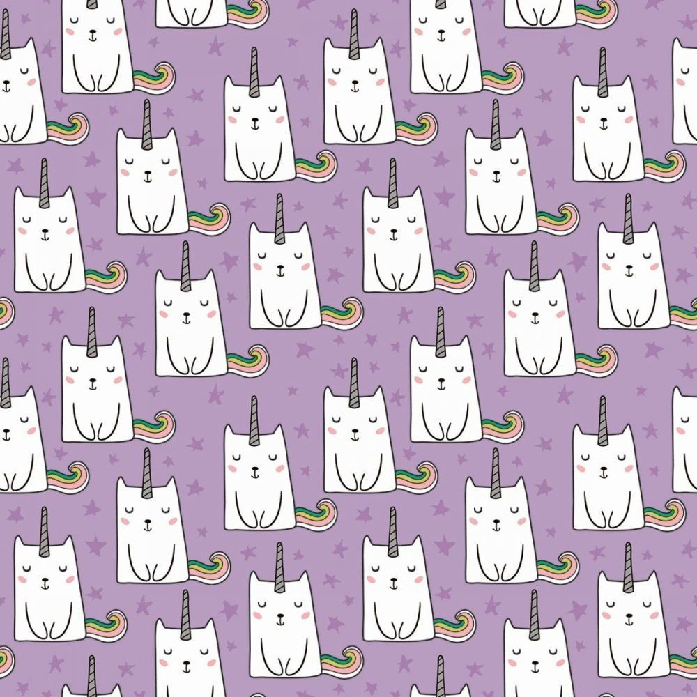 Caticorns Lilac Cat Unicorns Cats Novelty Metallic Gold Caticorn Sparkle Co