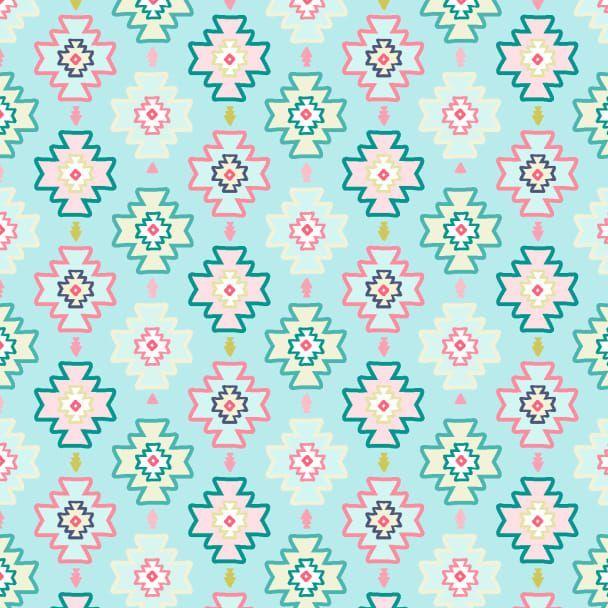 Llamaste White Llamas Cactus Llama Dear Stella Cotton Fabric