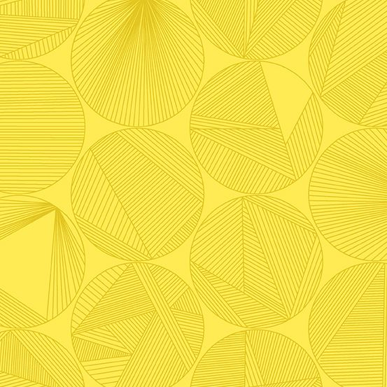 Redux Petri Canary Yellow Circles Linear Geometric Lines Blender Giucy Giuc