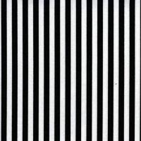 Clown Stripe Black and White Monochrome Tent Stripes Quilt Binding Geometric Blender Cotton Fabric