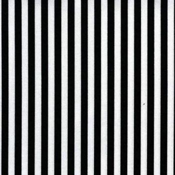 PRE-ORDER Clown Stripe Black and White Monochrome Tent Stripes Quilt Binding Geometric Blender Cotton Fabric
