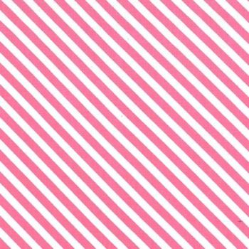Sugar Stripe Bayberry Pink and White Monochrome Bias Stripes Quilt Binding Geometric Blender Cotton Fabric