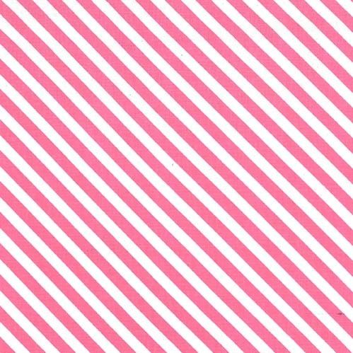 Sugar Stripe Bayberry Pink and White Monochrome Bias Stripes Quilt Binding