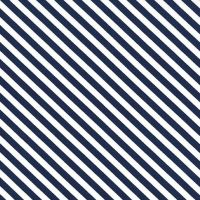 Sugar Stripe Midnite Navy Blue and White Monochrome Bias Candy Stripes Quilt Binding Geometric Blender Cotton Fabric