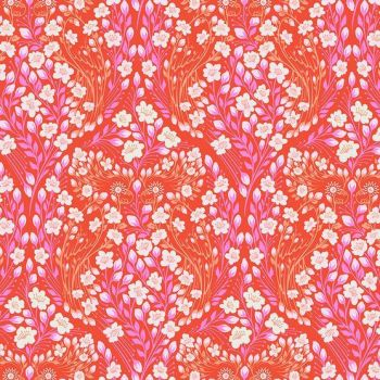 IN STOCK Tula Pink Monkey Wrench Parrot Prattle Mango Floral Flower Botanical Cotton Fabric