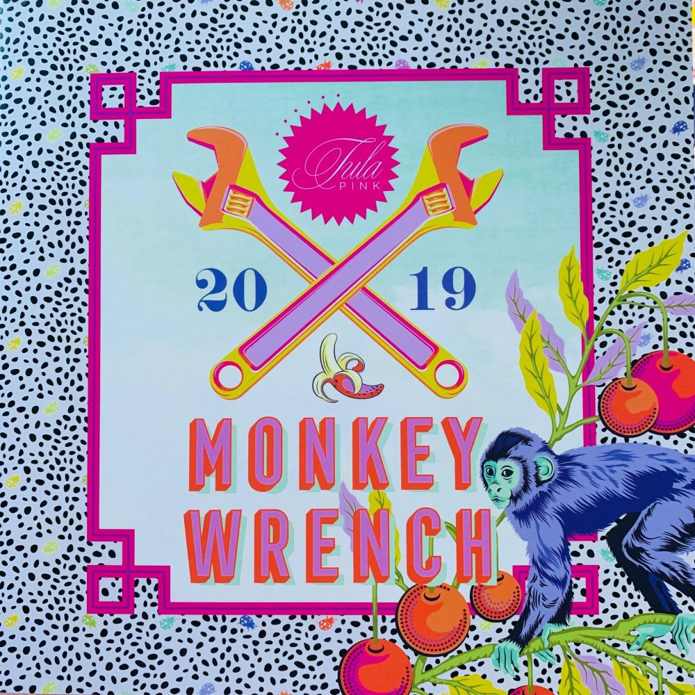 PRE-ORDER Monkey Wrench Tula Pink 19 Fabric 1 Metre Bundle Cotton Fabric Cl
