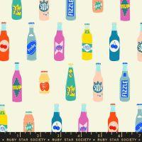 Pop Off Cream Soda Bottle Ruby Star Society Rashida Coleman-Hale Cotton Fabric