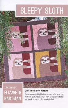 Elizabeth Hartman Sleepy Sloth Quilt Pattern