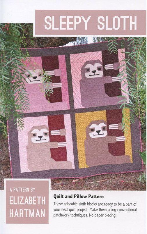 PRE-ORDER Elizabeth Hartman Sleepy Sloth Quilt Pattern