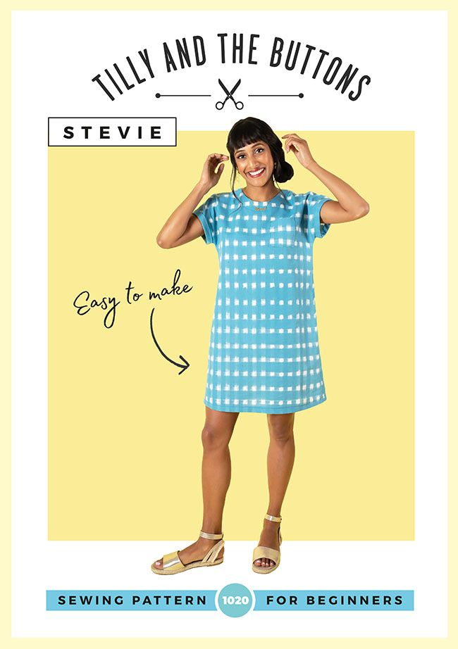 Tilly and the Buttons Stevie Tunic Top Dress Pattern