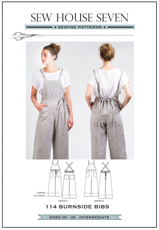 Sew House Seven Burnside Bibs Pattern