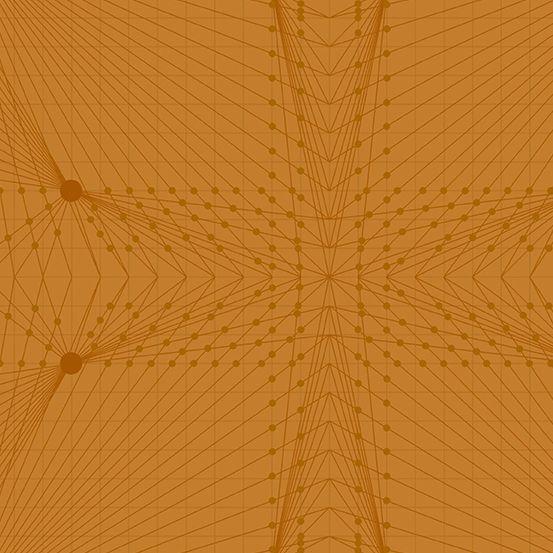 Quantum Interconnection Rust Orange Linear Geometric Lines Blender Giucy Gi