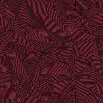 Quantum Terra Garnet Burgundy Linear Geometric Lines Blender Giucy Giuce Cotton Fabric