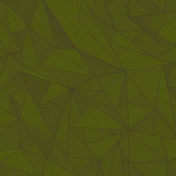 Quantum Terra Spruce Green Linear Geometric Lines Blender Giucy Giuce Cotton Fabric