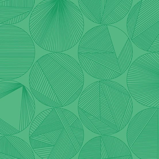 Redux Petri Algae Green Circles Linear Geometric Lines Blender Giucy Giuce