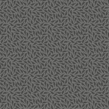 Tattooed North Lightning Bolts Charcoal Grey Libs Elliott Cotton Fabric